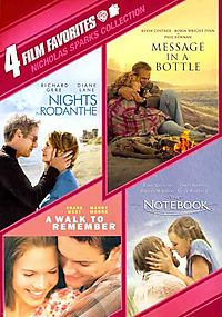Nicholas Sparks Collection: 4 Film Favorites